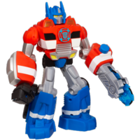 PLAYSKOOL HEROES TRANSFORMERS RESCUE BOTS Energize Electronic Optimus Prime Figure