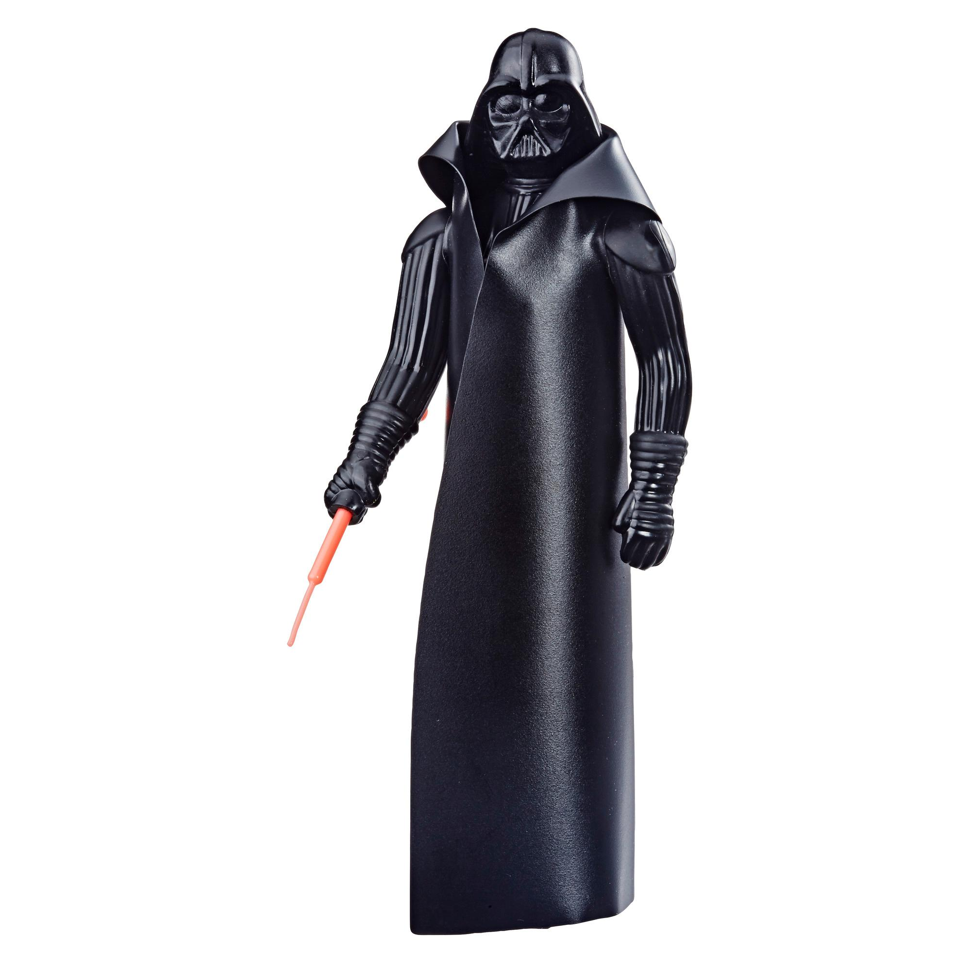 Star Wars Retro Collection Episode IV: A New Hope Darth Vader 3.75-Inch-Scale Action Figure Toy – Inspired by Classic 1970s-Sculpt and Packaging Collectible Star Wars Figure