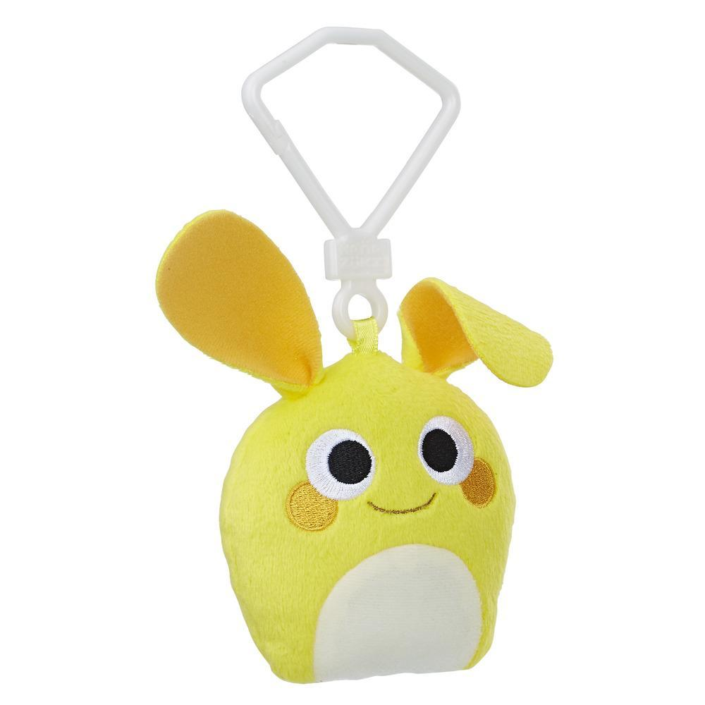 Hanazuki Hemka Clip Plush Yellow/Happy