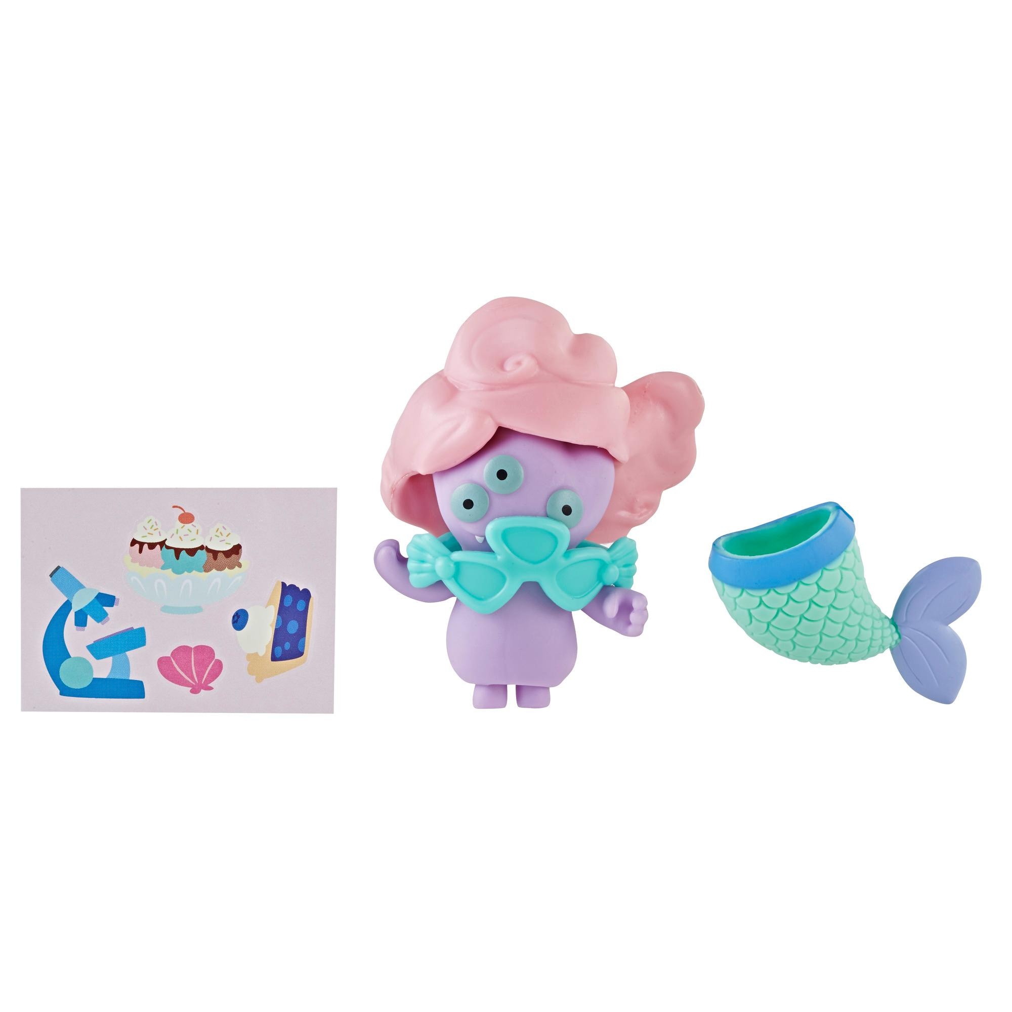 UglyDolls Surprise Disguise Mermaid Maiden Tray Toy, Figure and Accessories