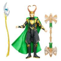MARVEL THE AVENGERS Movie Series Cosmic Spear LOKI Figure