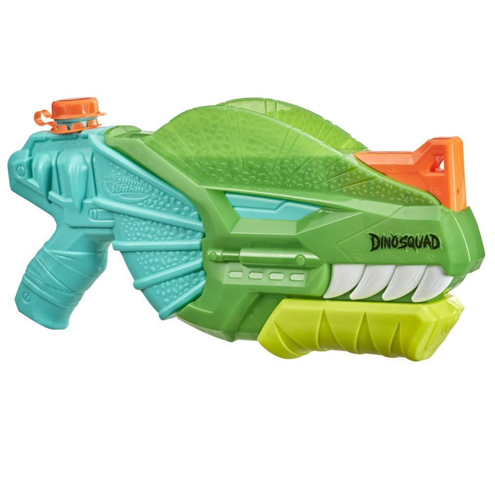 Nerf Super Soaker DinoSquad Dino-Soak Water Blaster -- Pump-Action Soakage For Outdoor Summer Water Games