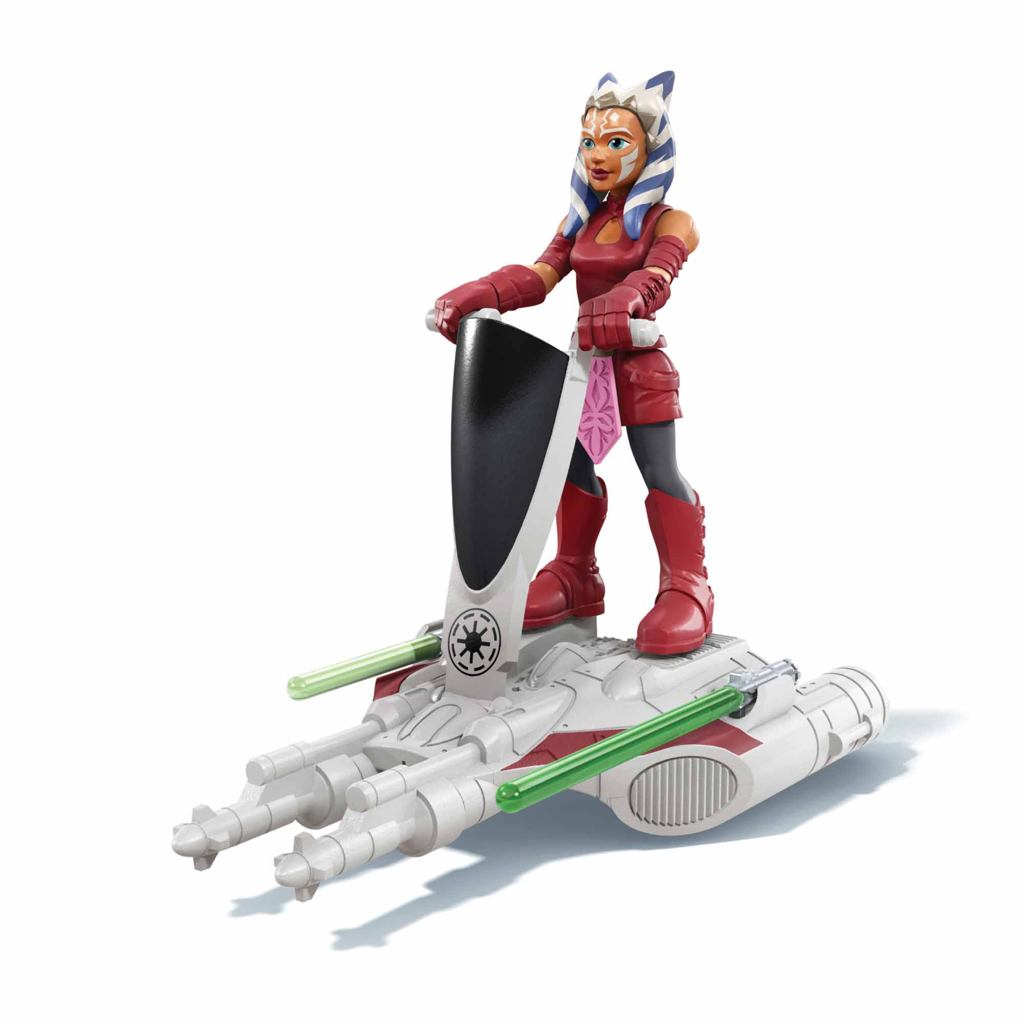 Star Wars Mission Fleet Gear Class Ahsoka Tano Aquatic Attack 2.5-Inch-Scale Figure and Vehicle, for Kids Ages 4 and Up