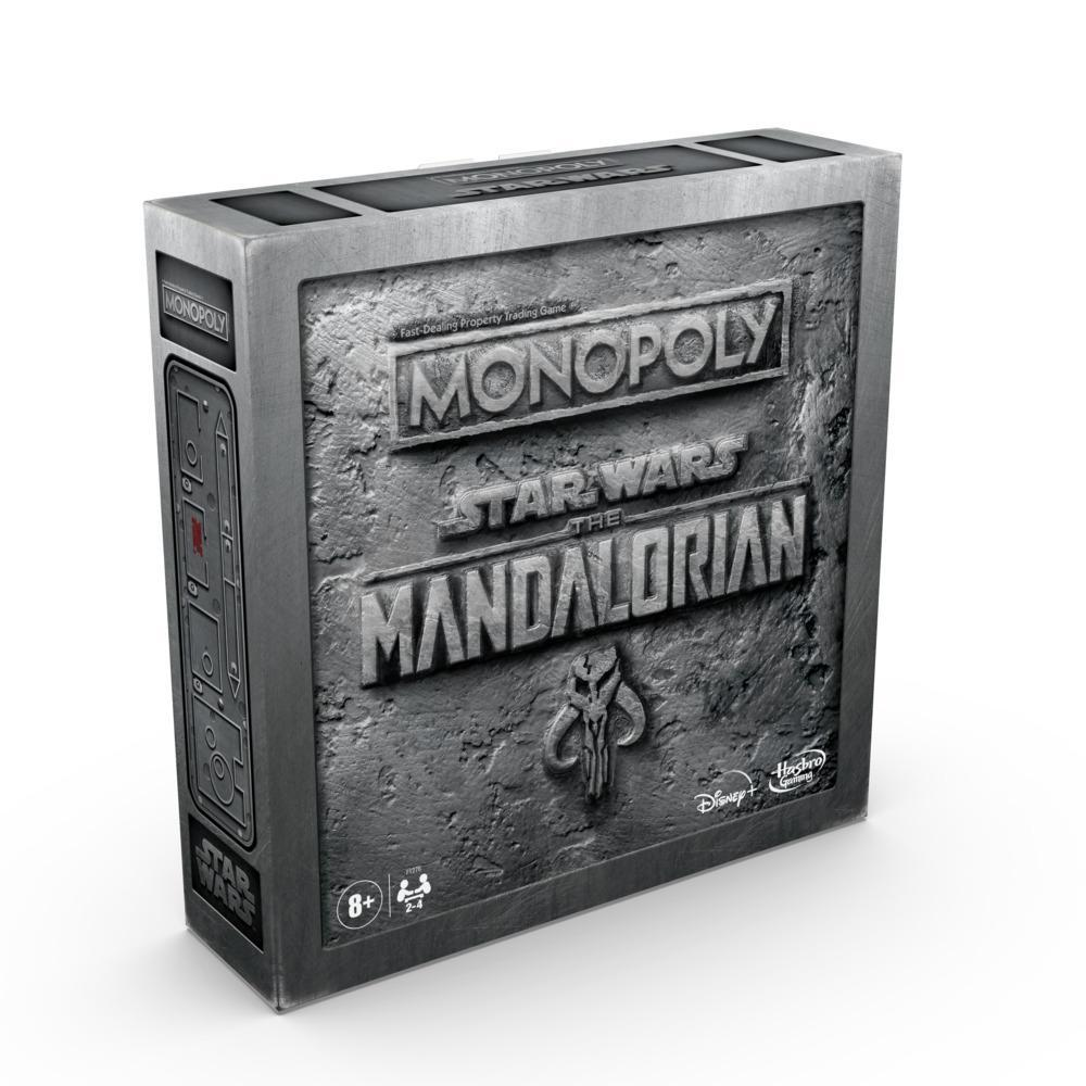 Monopoly: Star Wars The Mandalorian Edition Board Game Protect The Child (