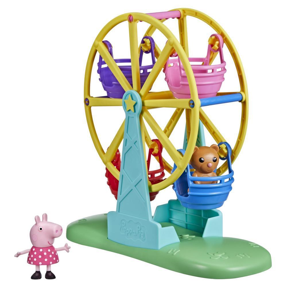 Peppa Pig Peppa's Adventures Peppa's Ferris Wheel Playset Preschool Toy for Kids Ages 3 and Up