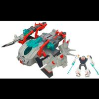 TRANSFORMERS PRIME CYBERVERSE COMMAND YOUR WORLD STAR HAMMER Vehicle with WHEELJACK Figure