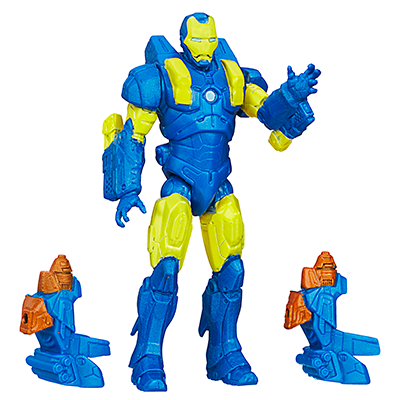 Marvel Avengers Assemble Voltstrike Iron Man Figure