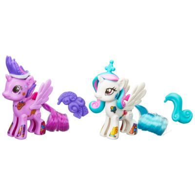 My Little Pony Pop Princess Celestia & Princess Twilight Sparkle Design-A-Pony Kit