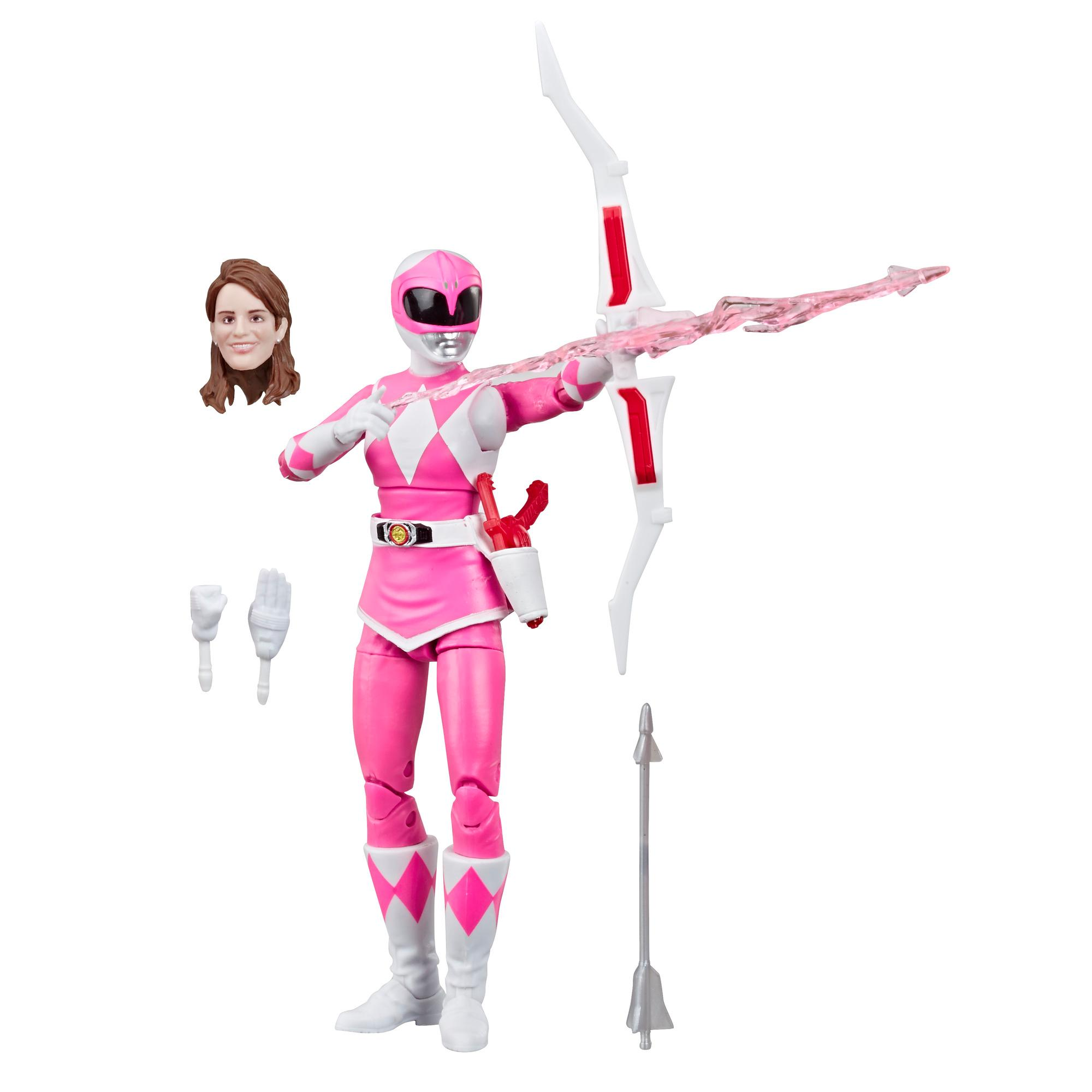 Power Rangers Lightning Collection Mighty Morphin Pink Ranger Figure