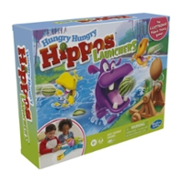 Hungry Hungry Hippos Launchers Game For Kids Ages 4 and Up