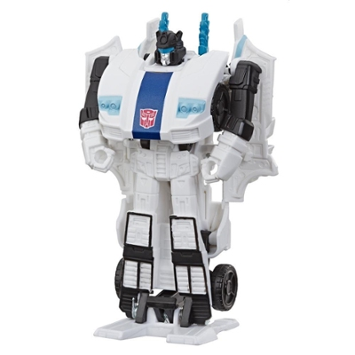 Transformers Toys Cyberverse Action Attackers: 1-Step Changer Autobot Jazz Action Figure Product