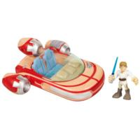 PLAYSKOOL HEROES STAR WARS JEDI FORCE Landspeeder with Luke Skywalker