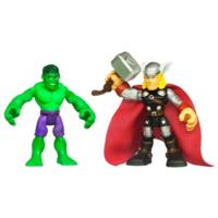 PLAYSKOOL HEROES MARVEL SUPER HERO ADVENTURES Hulk and Thor Figure 2 Pack