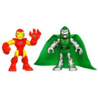 PLAYSKOOL HEROES MARVEL SUPER HERO ADVENTURES Iron Man and Dr. Doom Figure 2 Pack