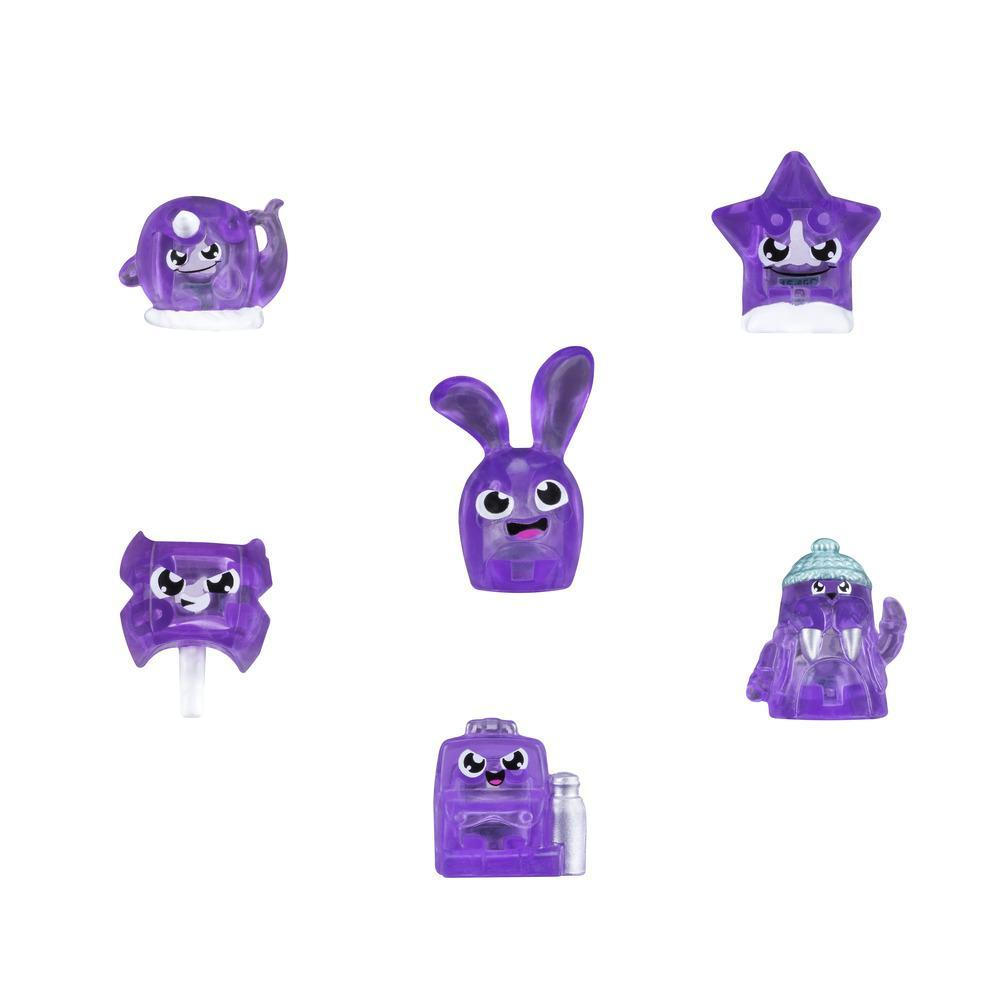 Hanazuki Treasure 6-Pack Purple.Courageous (Collection 1)