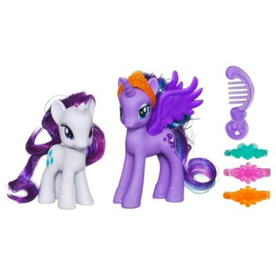MY LITTLE PONY PRINCESS LUNA & RARITY Figures