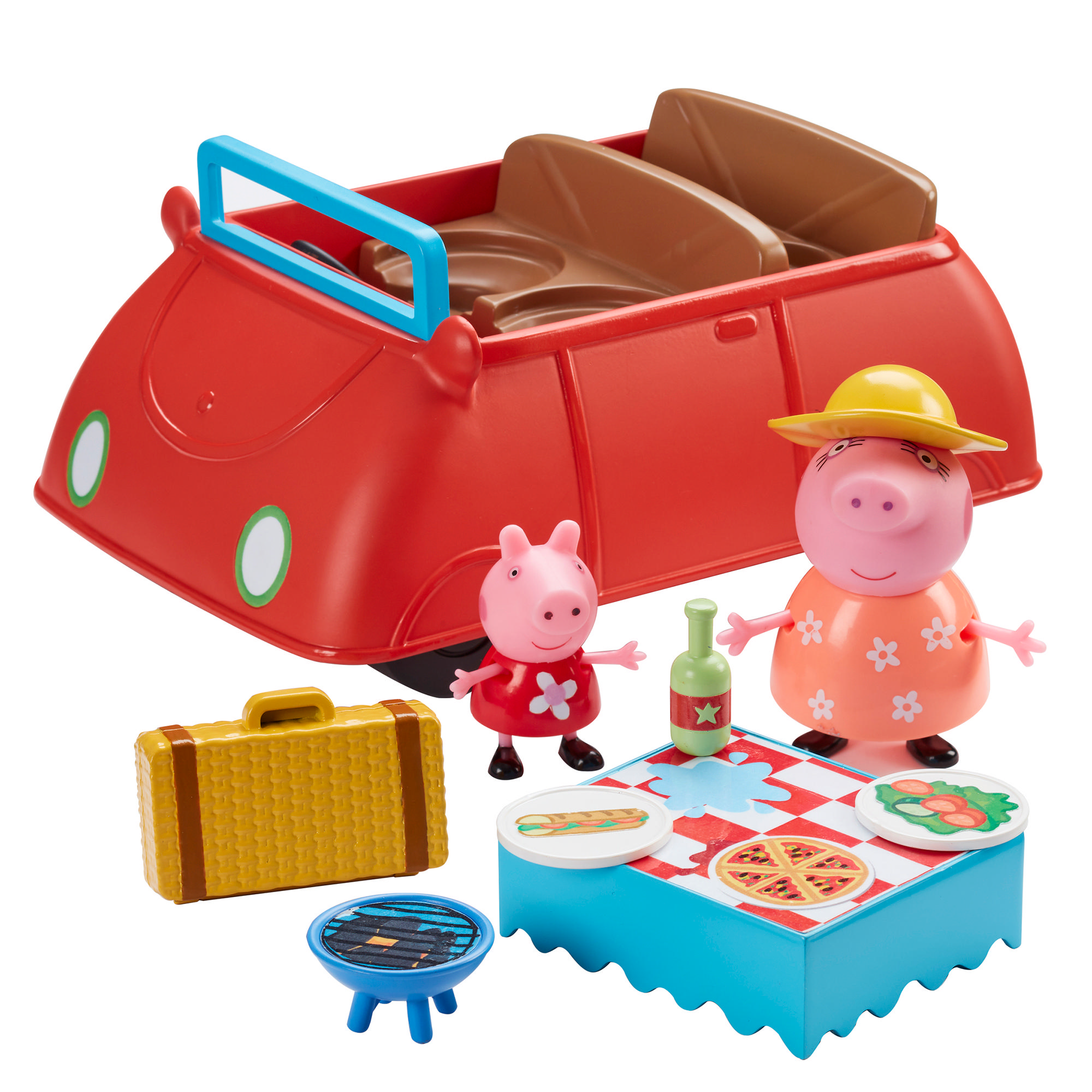 Peppa's Big Red Car