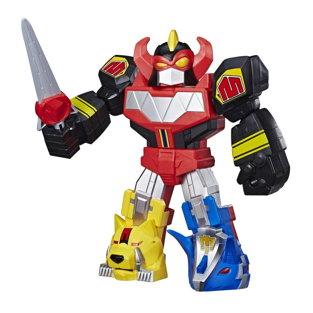 Playskool Heroes Mega Mighties Power Rangers Megazord Action Figure, 12-Inch Mighty Morphin Power Rangers Toy
