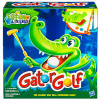 ELEFUN & FRIENDS GATOR GOLF Game