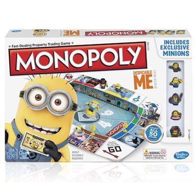 MONOPOLY DESPICABLE ME GAME