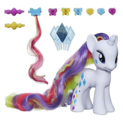 My Little Pony Cutie Mark Magic Styling Strands Fashion Pony Rarity Figure