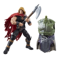 Marvel Thor Legends Series 6-inch Nine Realms Warriors (Odinson)