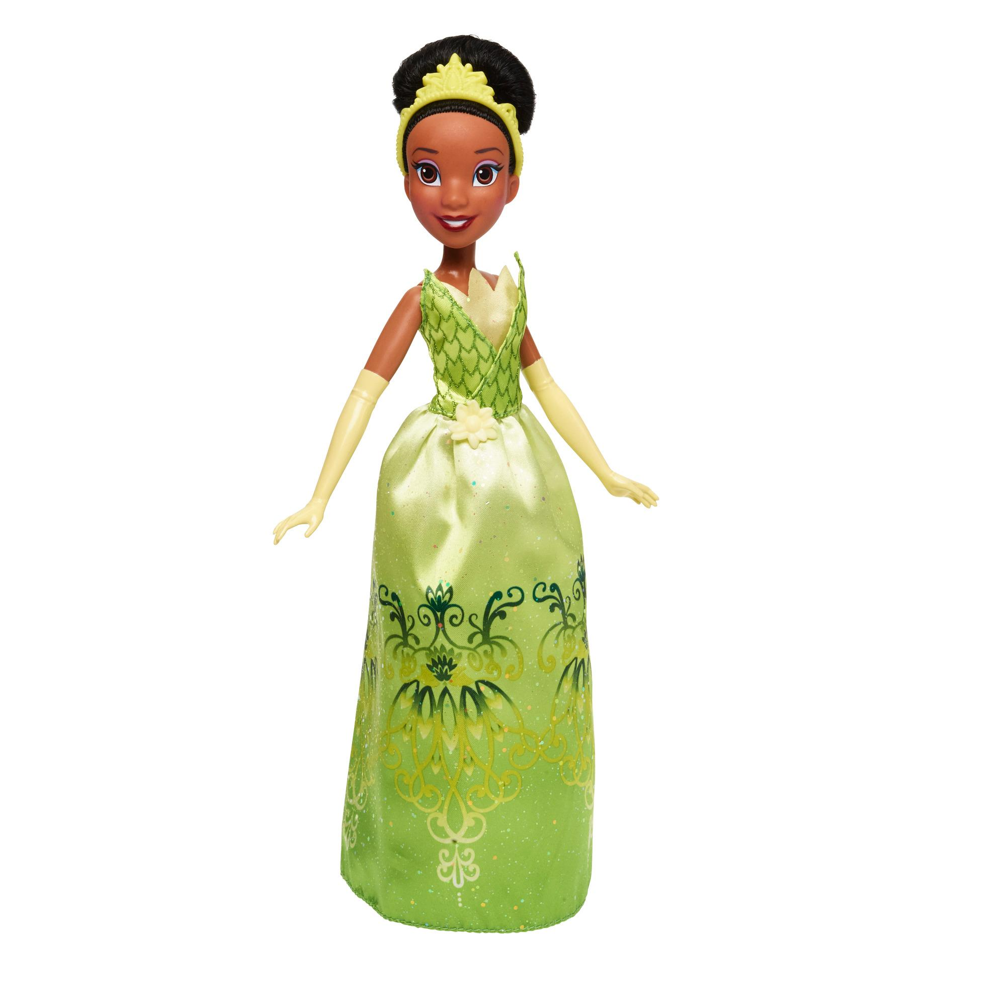 Disney Princess Royal Shimmer Tiana Doll  Disney Princesses