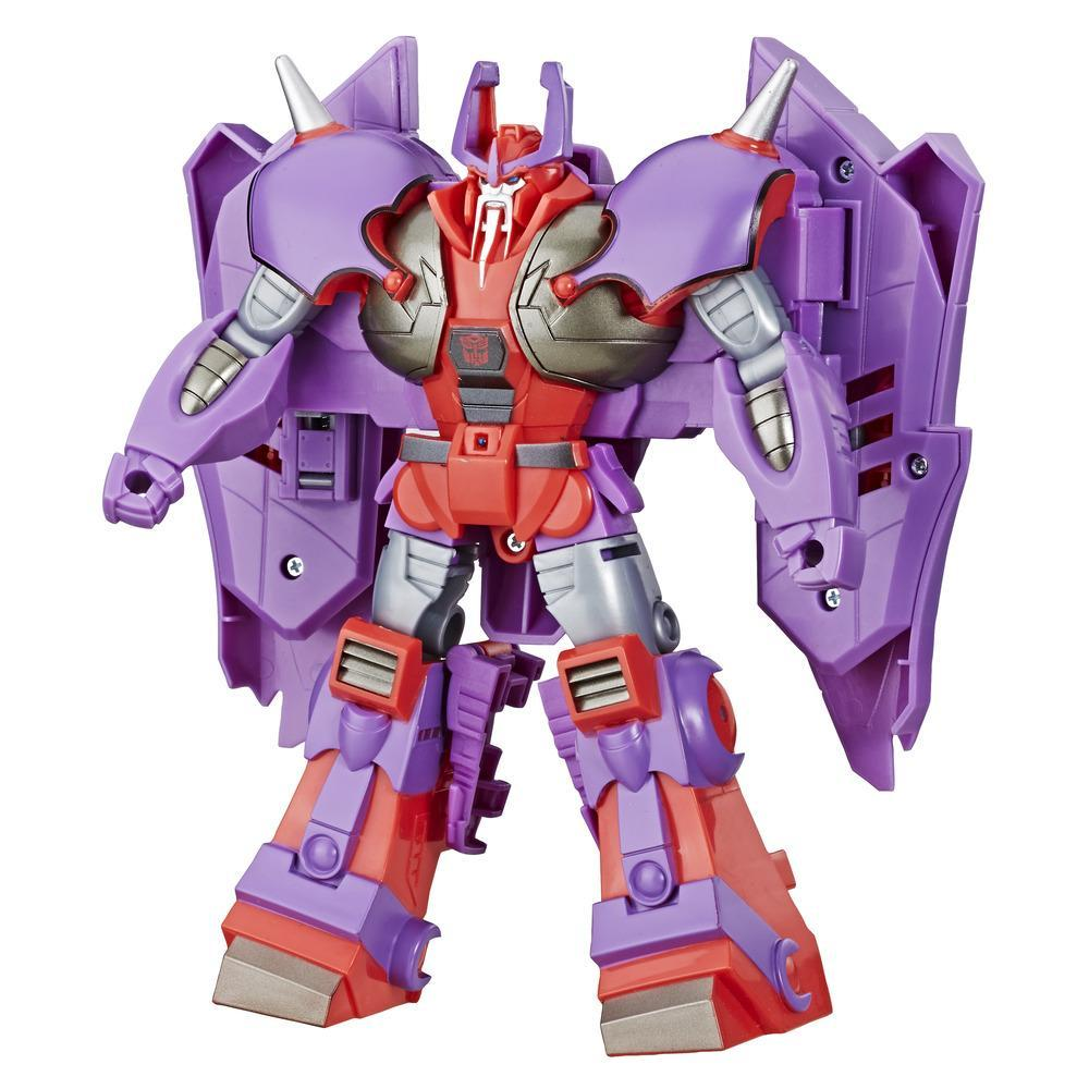 Transformers Toys Cyberverse Action Attackers Ultra Class Alpha Trion Action Figure - Repeatable Laser Beam Blast Action Attack - For Kids Age 6 and Up, 7.5-inch