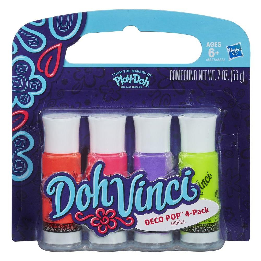 DohVinci Deco Pop 4-Pack (Warm Colours)