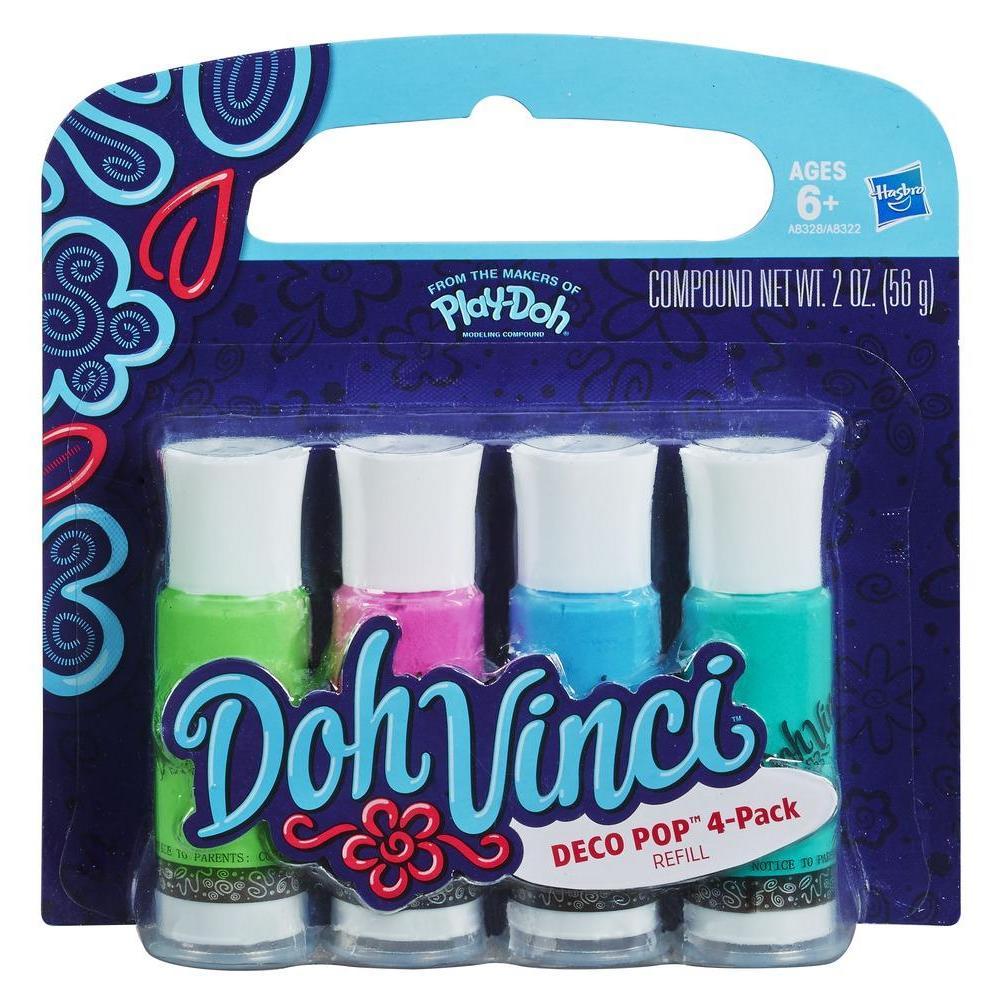 DohVinci Deco Pop 4-Pack (Cool Colours)