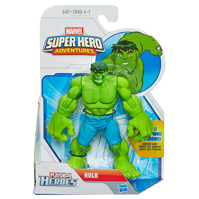 Playskool Heroes Marvel Super Hero Adventures Hulk Figure