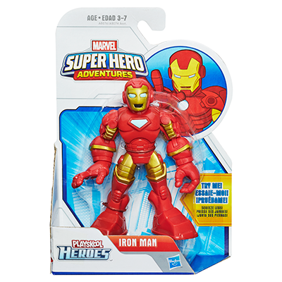 Playskool Heroes Marvel Super Hero Adventures Iron Man Figure