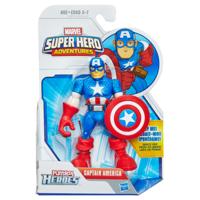 Playskool Heroes Marvel Super Hero Adventures Captain America Figure
