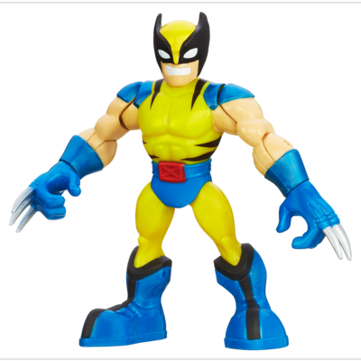 Playskool Heroes Marvel Super Hero Adventures Wolverine Figure