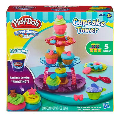 Play-Doh Sweet Shoppe Cupcake Tower