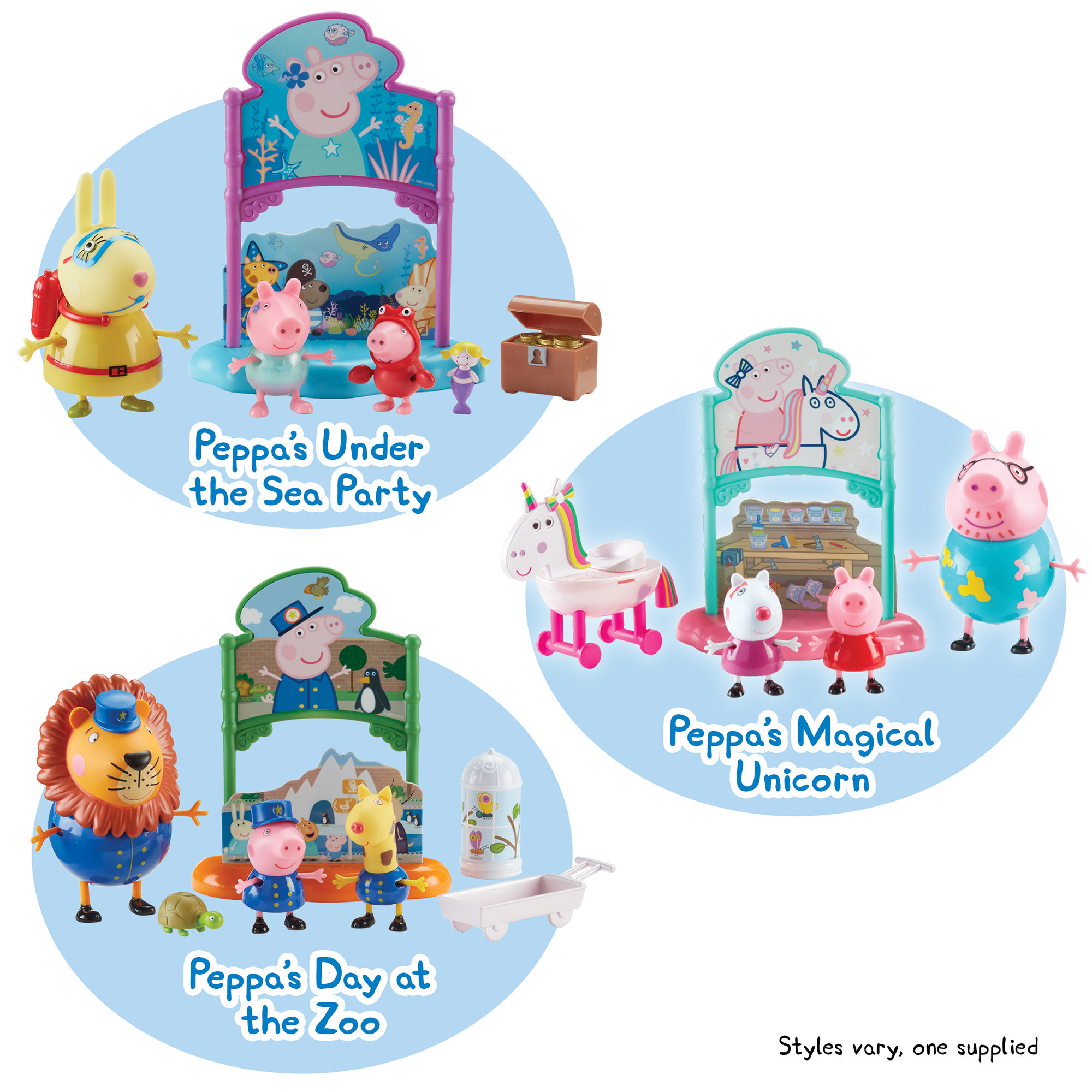 Peppa Pig Book Theme Playsets