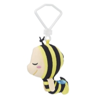 Hanazuki Little Dreamer Clip Plush (Bee Pajamas)