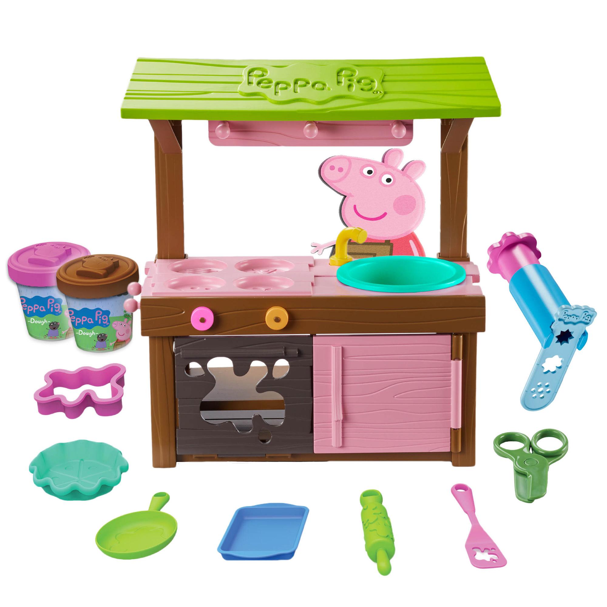 Peppa's Mud Kitchen Dough Playset