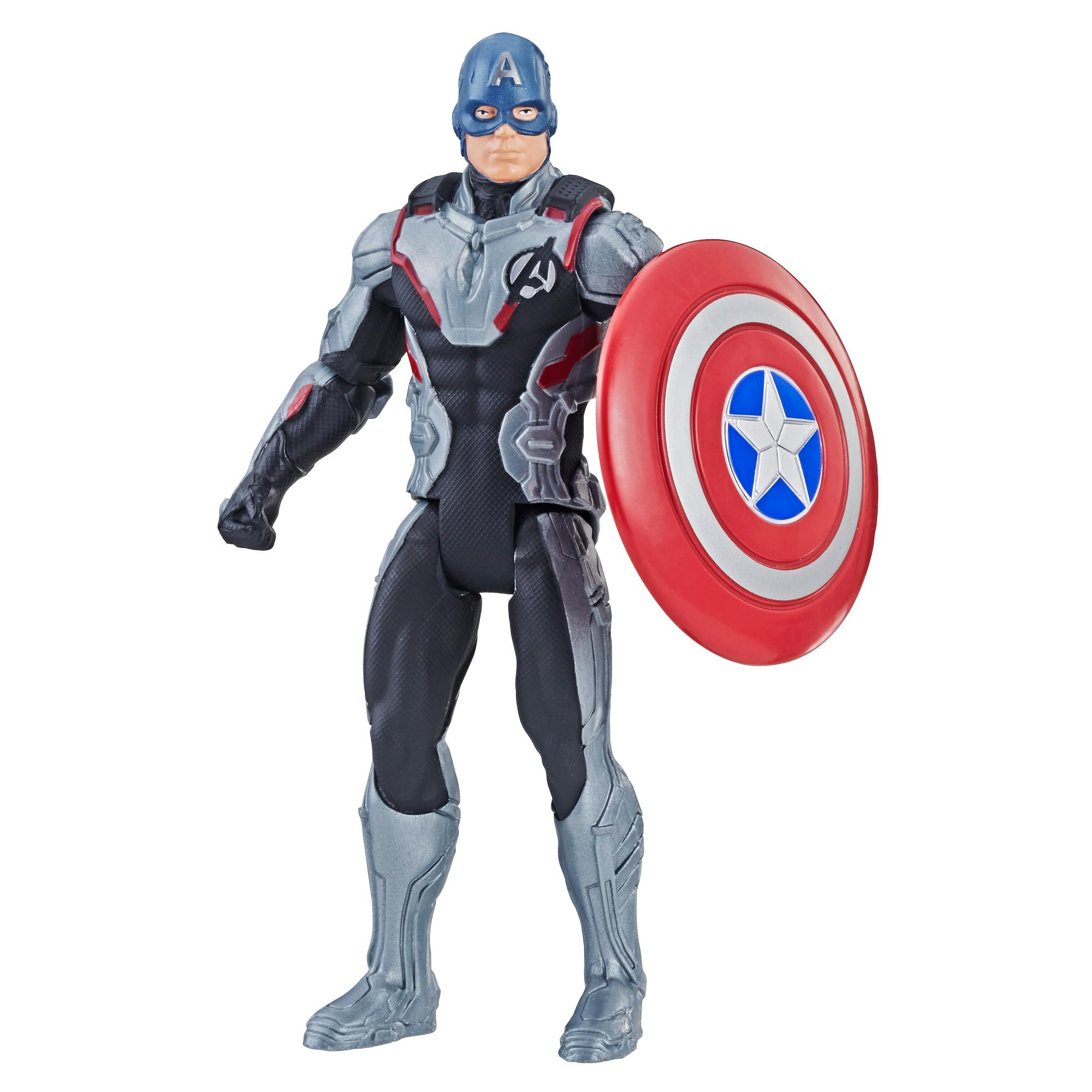 Marvel Avengers: Endgame Team Suit Captain America 6-Inch-Scale Figure