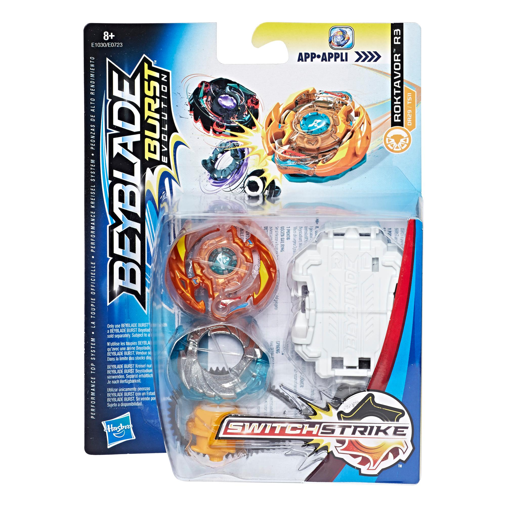 Beyblade Burst Evolution SwitchStrike Starter Pack Roktavor R3