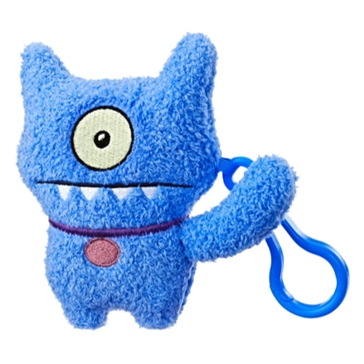 UglyDolls Ugly Dog To-Go Stuffed Plush Toy, 5 inches tall