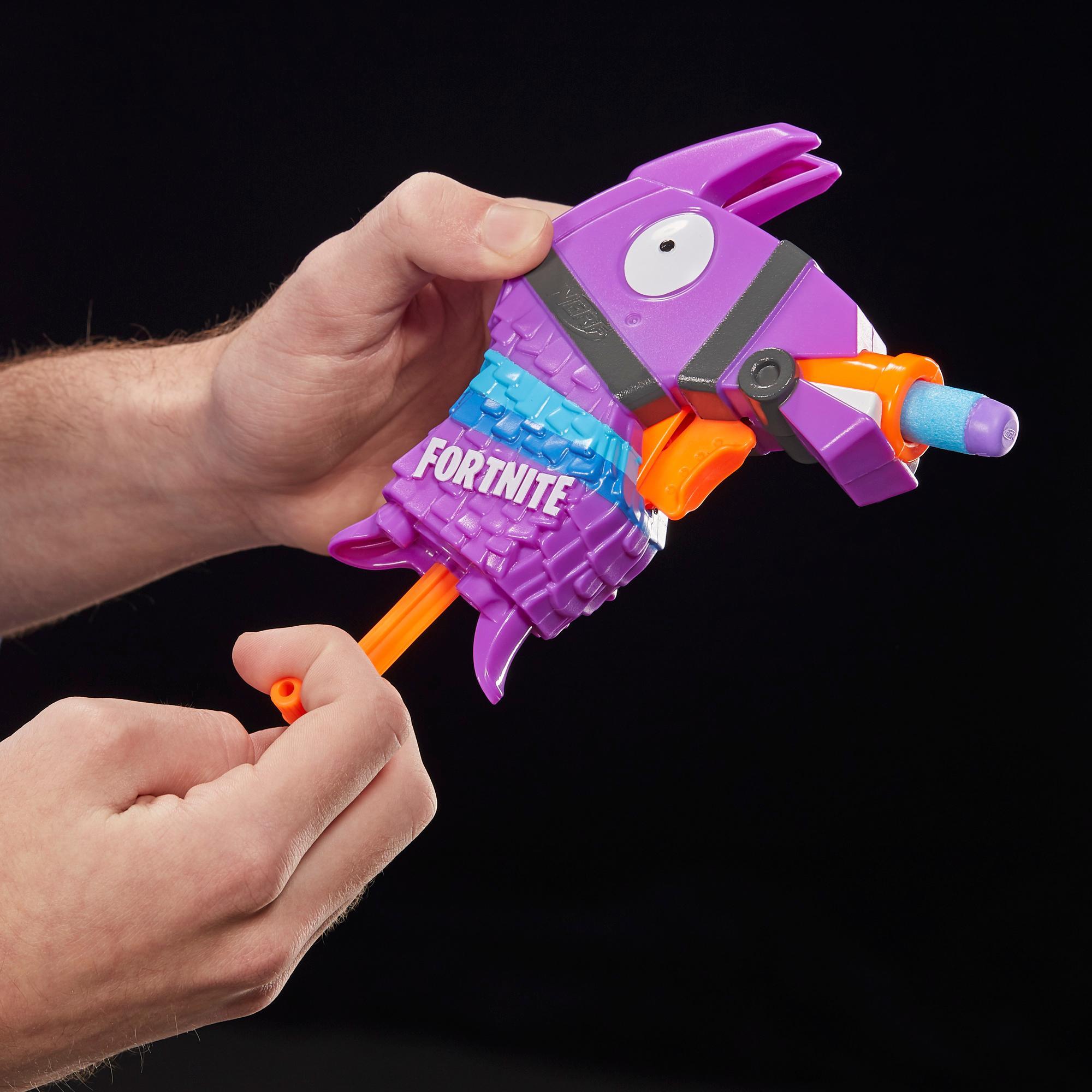 Fortnite Llama Nerf MicroShots Dart-Firing Toy Blaster