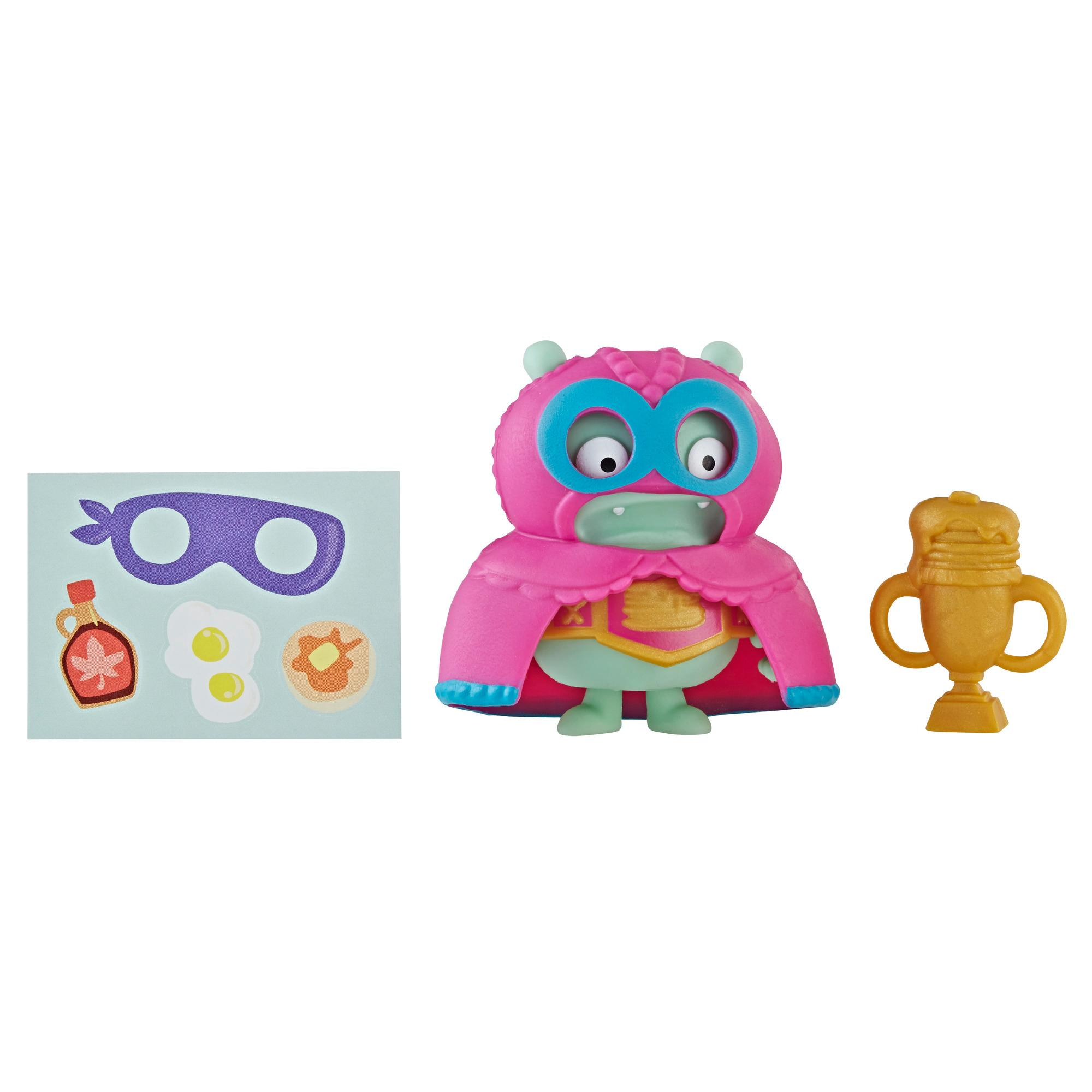 UglyDolls Surprise Disguise Pancake Champ Jeero Toy, Figure and Accessories
