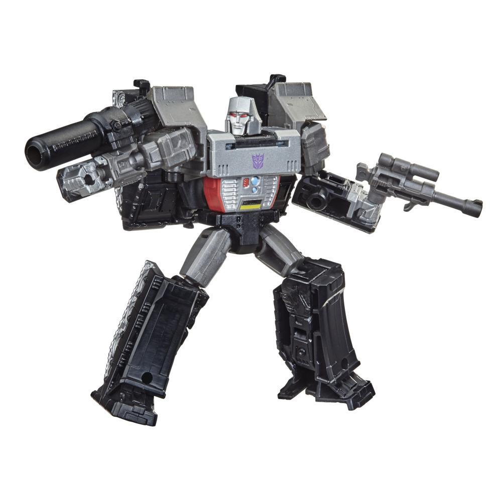 Transformers Toys Generations War for Cybertron: Kingdom Core Class WFC-K13 Megatron Action Figure - 8 and Up, 3.5-inch