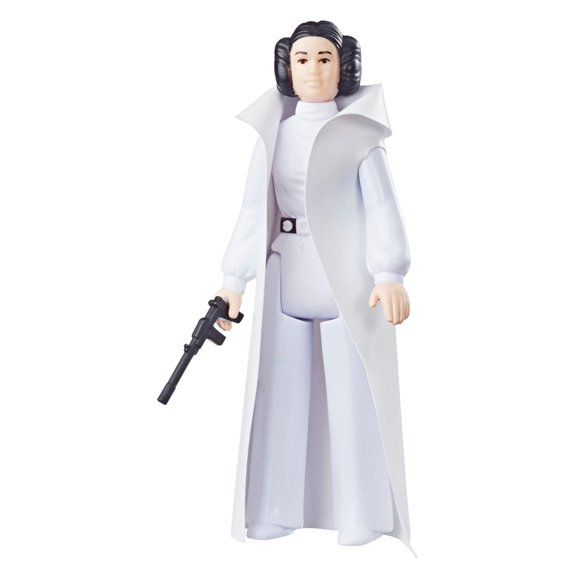 Star Wars Retro Collection Episode IV: A New Hope Princess Leia 3.75-Inch-Scale Action Figure Toy – Inspired by Classic 1970s-Sculpt and Packaging Collectible Star Wars Figure