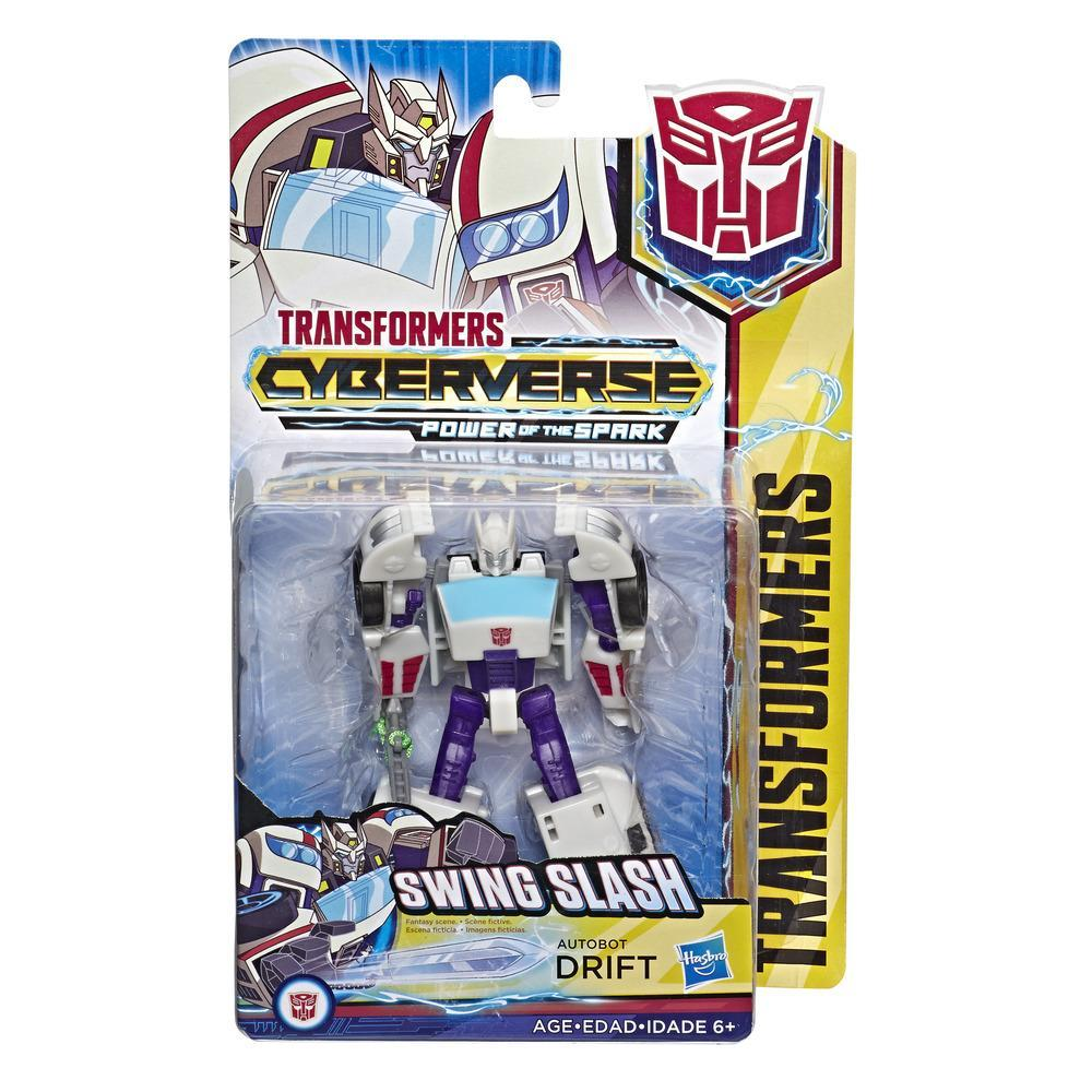 Transformers Toys Cyberverse Action Attackers Warrior Class Autobot Drift Action Figure