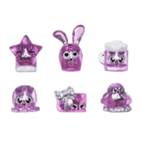 Hanazuki Treasure 6-Pack Pink/Loving (Collection 1)