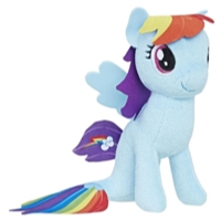 My Little Pony the Movie Rainbow Dash Sea-Pony Small Plush