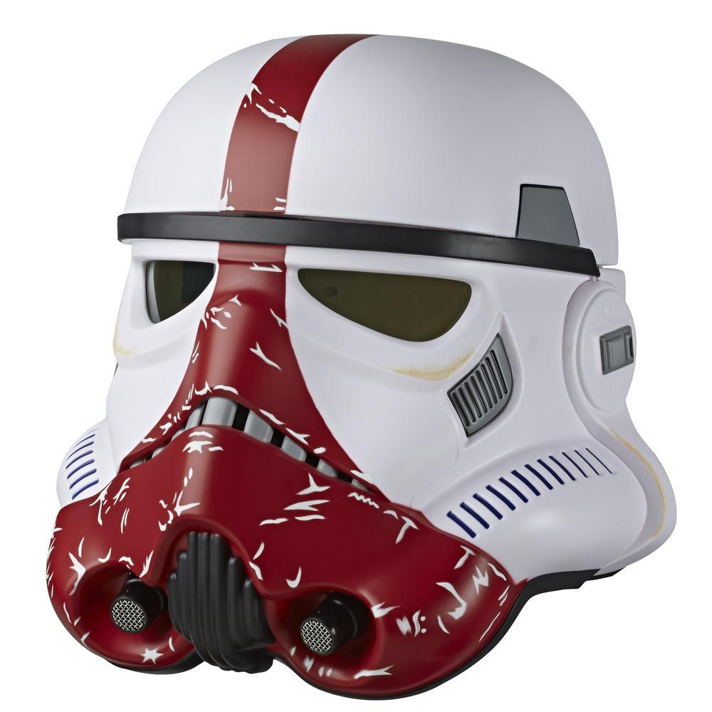 Star Wars The Black Series The Mandalorian Incinerator Stormtrooper Premium Electronic Roleplay Helmet