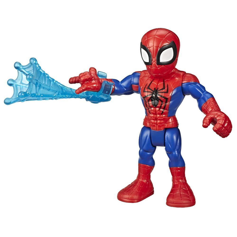 Playskool Heroes Marvel Super Hero Adventures Collectible 5-Inch Spider-Man Action Figure with Web Accessory